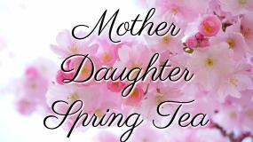 Spring Tea – May 13